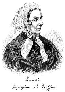 Amalie von Sachsen, 1794-1870, Princess of Saxony