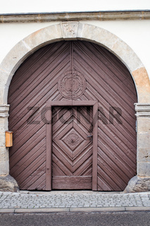 Gate with door