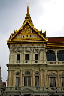 thailand asia   in  bangkok rain    palaces     sky      and  colors   mosaic
