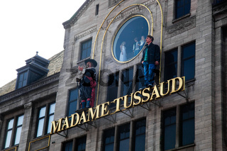 Madame Tussaud musem in Amsterdam