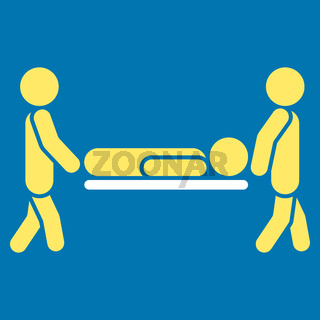Patient Stretcher Icon