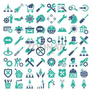 Service Tools Icon Set