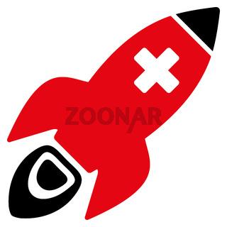 Medical Rocket Icon