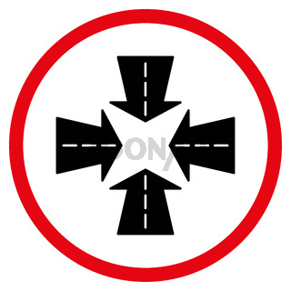 Merge Directions Icon