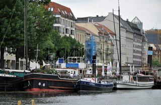 Historischer Hafen in Berlin