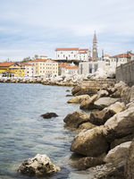 City of Piran in Slovenia