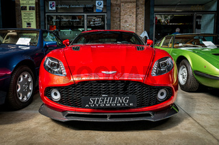 Sports car Aston Martin V12 Zagato.