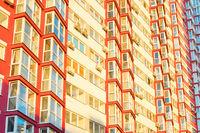 Modern apartment building Kiev, Ukraine