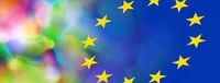 europa bunt vielfalt abstrakt farben