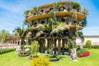 Bogota Jaime Duque park reproduction of the gardens of Babylon