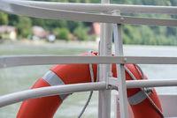 Rescue tires as a lifesaver - closeup lifebuoy for distress