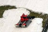Schneeproduktion Hochfirstschanze