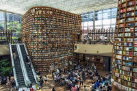 Coex starfield library in seoul