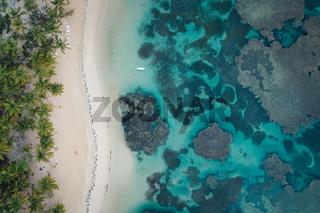Aerial view of Grand Bahia Principe beach