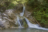 waterfall in Loisach valley