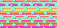 stars on a multi-colored background