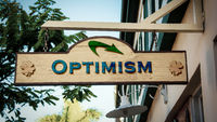 Street Sign to Optimism