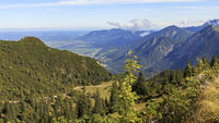 Distant view from the Duke position, Bavaria, September