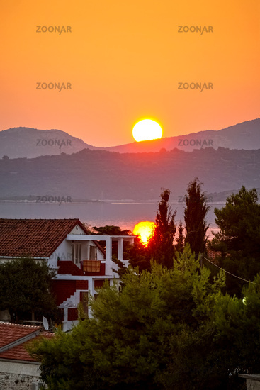 Sunrise in Croatia