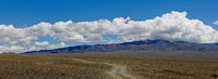 Panorama of Mongolian roads