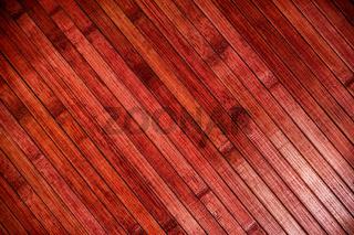 Red wood parquet