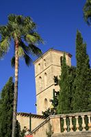 Parish church of the Transfiguration of the Lord, Mallorca, Spain