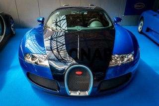 A sports car Bugatti Veyron EB 16.4.