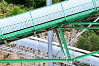 up and down - conveyor system conveyor belt