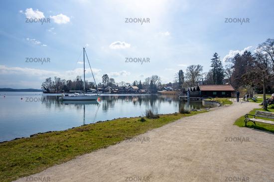boat house Starnberg lake