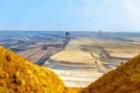 An overburden excavator in the Garzweiler II opencast mine