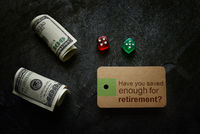 Saving for retirement planning