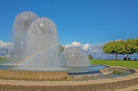 Water feature Romanshorn, Canton Thurgau, Switzerland