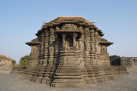 Back side view, Daitya Sudan temple, Lonar, Buldhana District, Maharashtra, India