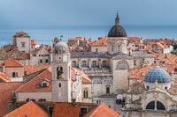 Dubrovnik Old Town houses