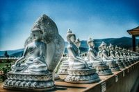 Ewan Garden of One Thousand Buddhas, Arlee, MT.