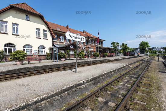 train station, Kuehlungsborn West, Mecklenburg-Western Pomerania, Germany, Europe