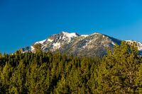 Mountain at Lake Tahoe in California