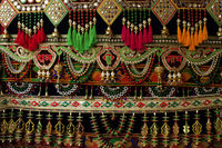 Toran a traditional hanging seen in Indian households during festive occasions, like Diwali