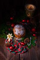 Panettone, an Italian Christmas Sweet Bread
