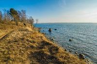 Estonian Baltic Sea coast, the tide