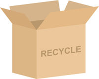 Recycle Donation Box Vector