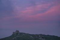 Saint Nicholas Chapel in at sunset