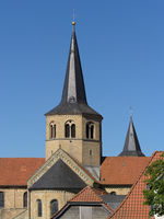 Hildesheim - Basilica St. Godehard, Germany