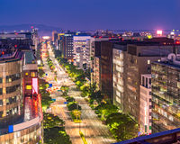 Aerial Hakata Fukuoka Japan