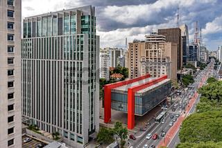 Paulista Avenue buildings