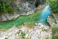 gorge near Frasassi