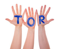 Hands With Tor Means Goal, Isolated