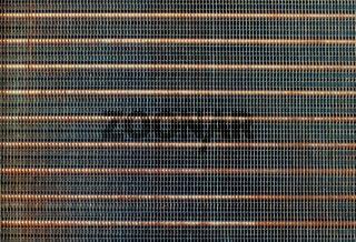 radiator from car engine