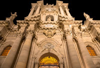 Cathedral of Syracuse entrance