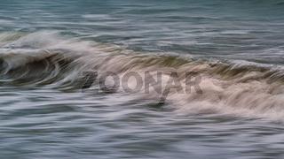 Breaking Wave on the Beach, Trinidad, California